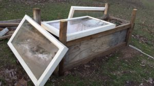 Cold Frame - OBF 2017 Goals --> Extend the season!